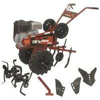 Maxim TP50B Garden Tiller With Cultivator Attachment