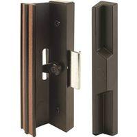 HANDLE SLIDING DOOR BLK AL