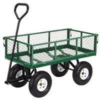 Tricam FR110 Yard Cart With Fold Down Sides