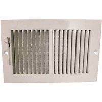 Mintcraft SW02-10X6 2-Way Sidewall Register