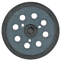 Makita 743081-8 Round Backing Pad with Hook and Loop Attachment