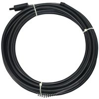 DRAIN SNAKE POWER 1/4X25FT BLK