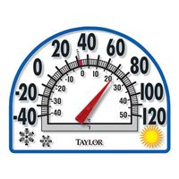Taylor 91157 4-Season Easy-To-Read Analog Thermometer
