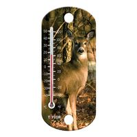 THERMOMETER DEER WINDOW