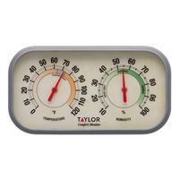 THERMOMETER W/HUMIDITY GAUGE