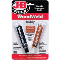 J-b Weld Woodweld Quick Setting Wood Epoxy Adhesive
