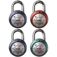 Master Lock 1561DAST Assorted Combination Padlock Set