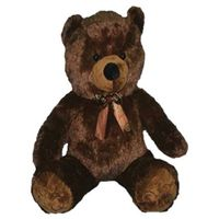 TEDDY BEAR PLUSH POLY BRN 48IN