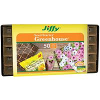 Jiffy TS50H Strips-N-Greenhouse Seed Starter Strip