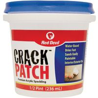 Red Devil Crack Patch Acrylic Spackling