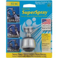 Whedon SU6C Deluxe Super Lead Free Swivel Spray Aerator