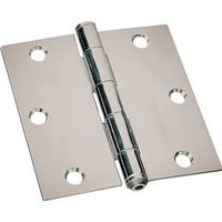 HINGE UTILITY 2-1/2X2-1/2IN ZN
