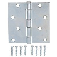 HINGE UTILITY STEEL 4X4IN ZN
