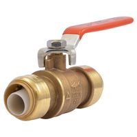SharkBite 22185-0000LF 1-Piece Full Port In-Line Ball Valve