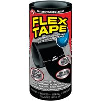 TAPE FLEX BLACK 8IN X 5FT