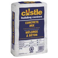 King 11011430 Castle Concrete Mix