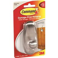 Command 17063BN Large Timeless Hook