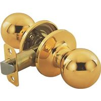 Toolbasix 6072PB-DS Ball Door Knob Lockset
