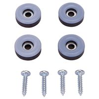 GLIDE FURNITURE W/SCREW 7/8IN