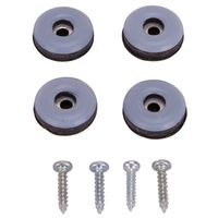 GLIDE FURNITURE W/SCREW 1IN
