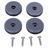 GLIDE FURNITURE W/SCREW1-1/2IN