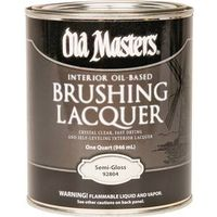 Old Masters 92804 Oil Based Brushing Lacquer