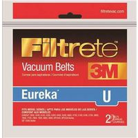 Filtrete 67312A-12 Cogged Type U Vacuum Cleaner Belt
