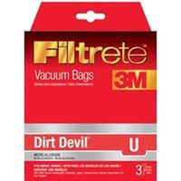 Filtrete Dirt Devil 65703A-6 Type U Vacuum Cleaner Bag