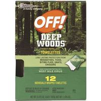 OFF! Wood 54996 Insect Repellent Towel