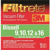 Eureka 66809B-2 Filtrete-3M Vacuum Cleaner Filters