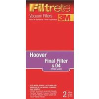 Eureka 64802A-4 Filtrete-3M Vacuum Cleaner Filters