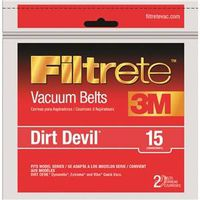 Filtrete 65015A-12 Type 15 Vacuum Cleaner Belt
