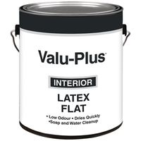 PAINT INTR FLAT LATEX WHITE GA
