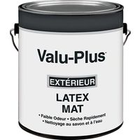 PAINT EXTR FLAT LATEX WHITE GA