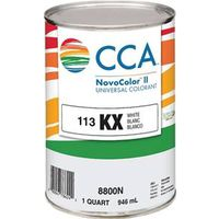 PAINT COLORANT KX WHITE QT
