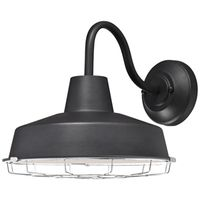 FIXTURE WALL LED TEXTRD BLACK