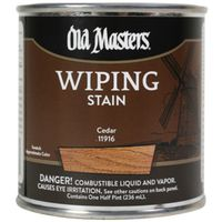 Old Masters 11916 Oil Based Wiping Stain