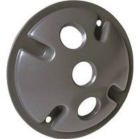 COVER LAMPHLDER ROUND GRAY