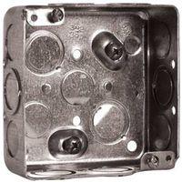 BOX CEILING SQ MTL 1-1/2D 21CU