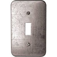 COVER UTILITY BOX MTL2-1/2X4IN