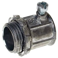 CONNECTOR SCRW EMT ST ZN 1/2IN