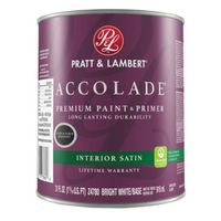 PAINT INTR SATIN BRT WHITE 1QT