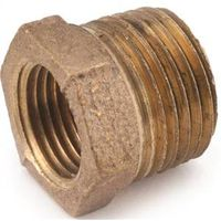 Anderson Metal 738110-0602 Brass Pipe Hex Bushing