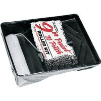 Wooster R965-9 Paint-N-Pitch Paint Roller And Tray Sets