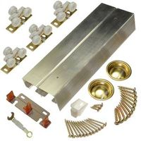 Johnson Hardware 134F 2 Panel By Pass Door Hardware Set
