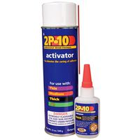 ADHESV/ACTIVATOR KIT 2.25&12OZ