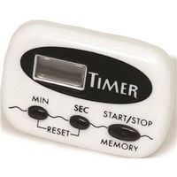 TIMER DIGITAL WHITE 2-1/2IN
