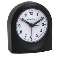 Westclox 47312 Arched Quartz Alarm Clock