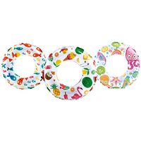 Lively 59230EP Assorted Print Swim Ring