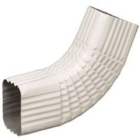 Amerimax 47265 Type B Square Corrugated Gutter Side Elbow